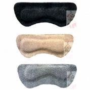 BRITISH QUALITY HEEL GRIPS in Quality Suede with gel pad